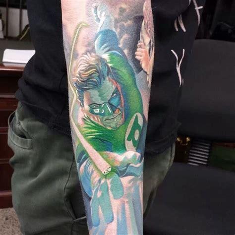 ross tattoos alex ross green lantern by steve butcher at matt s