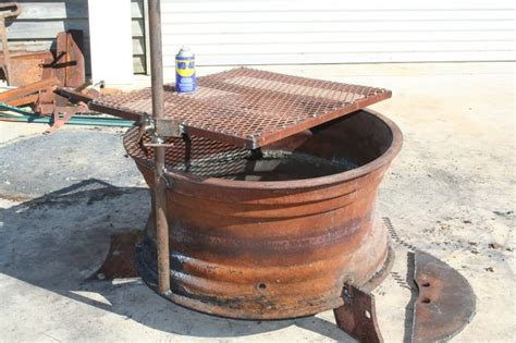 Recycled Tire Rim Bbq And Fire Pit Ideas2live4 Bbq Firepit