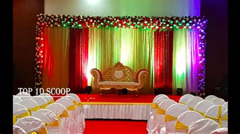 innovative ideas for indian wedding stage
