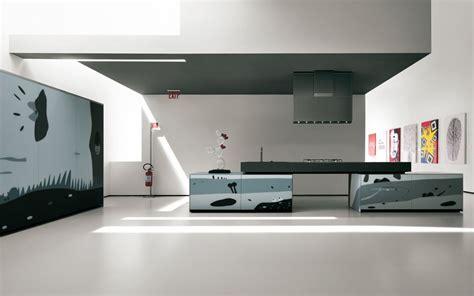 design küchen tapetenmuster steinoptik wohnzimmer