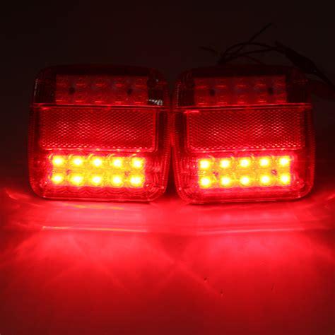 led trailer tail lights for sale 12v led caravan truck trailer stop rear tail license plate
