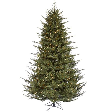 lighted artificial christmas trees 8 10 ft christmas trees