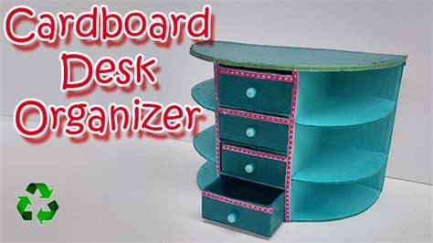 cardboard desk organizer cardboard desk organizer diy crafts