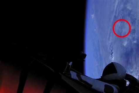 elon musk rocket launch is that aliens black ufo spotted during elon musk s