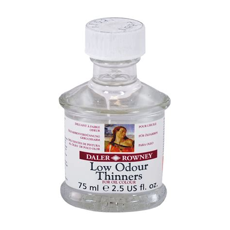 best low odor paint daler rowney low odor thinner 75ml at guiry s color source