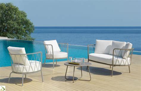 divano giardino divano 3 posti da esterno desiree arredo design