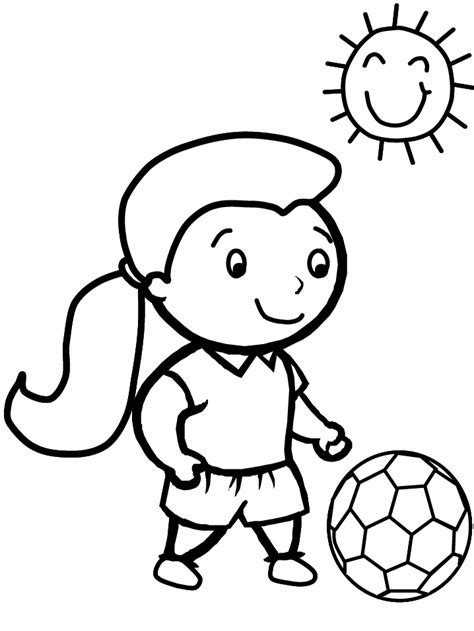 sports coloring pages for kindergarten sports coloring pages 2 coloring kids coloring page