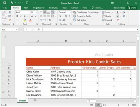 marionette layout view exle hướng dẫn to 224 n tập excel 2016 phần 1 l 224 m quen với
