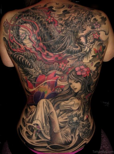 japanese geisha tattoo 70 new styles geisha tattoos designs for back