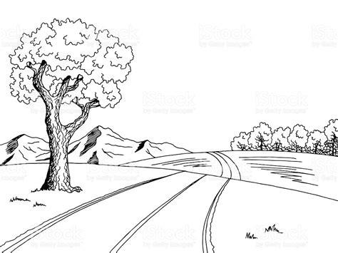 Alat Mewarnai Air Water Coloring Pensil Warna black and white road clipart clipartxtras