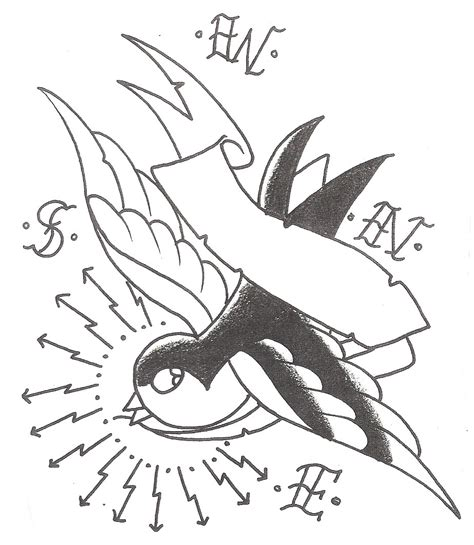 outline bird tattoo designs sparrow tattoos designs ideas and meaning tattoos for you