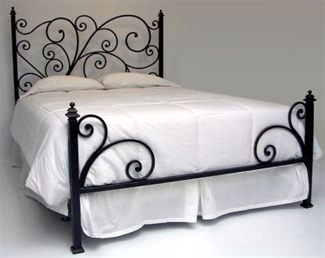 iron bed frame love the low foot board iron bed frames