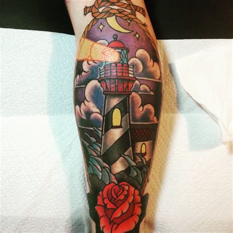 dinosaur tattoo dothan al my kickass new lighthouse done by chris lurie at