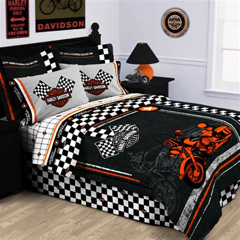 racing bedding harley bedding harley davidson bedding harley bed