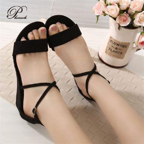 Sepatu Sandal Wanita 21 sepatu sandal wanita murah dan cantik warna hitam
