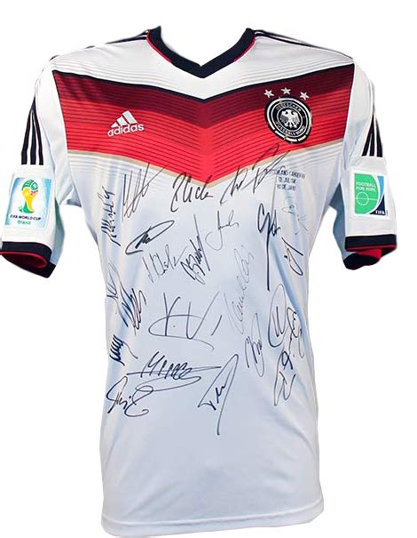 Jersey World Cup germany signed 2014 world cup jersey