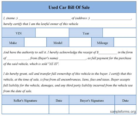 bill of sale colorado fill online printable fillable blank