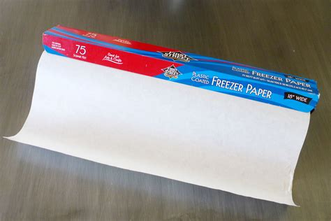 Freezer Paper how to preserve a pattern freezer paper oliver s