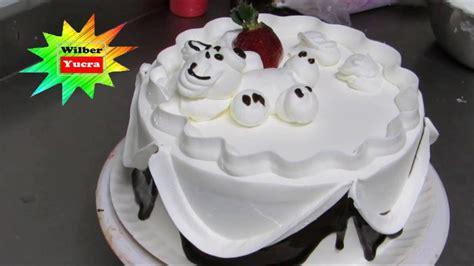 decorar tortas facil como decorar una torta de cumplea 241 os muy facil y rapido