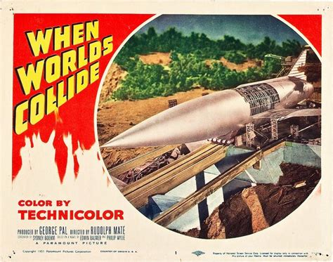 fantasy film hobby lobby when worlds collide paramount 1951 lobby card horror