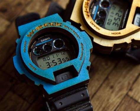 Painting G Shock Bezel by Wood Shock Wooden Bezel For Casio G Shock