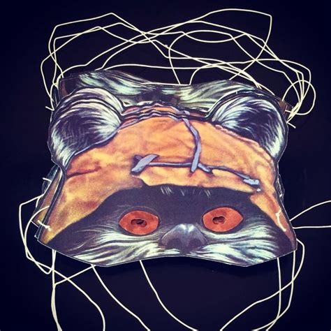 printable ewok mask 35 best images about ewok birthday party on pinterest