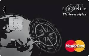 comparatif des cartes platinum mastercard billet de banque