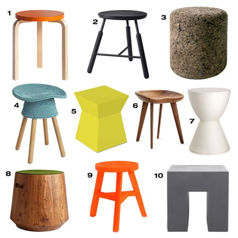 Stool Design by 10 Modern Stools Design Milk