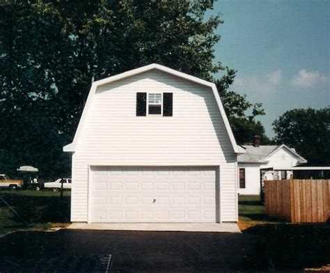gambrel roof garage gambrel barn style lofted garages free estimates