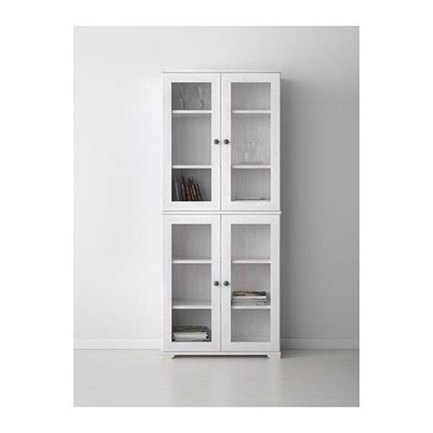 white curio cabinet glass doors ikea borgsjo glass door display curio cabinet white ebay