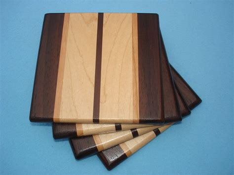 walnut woodworking projects 12 best wood coasters images on wood coasters