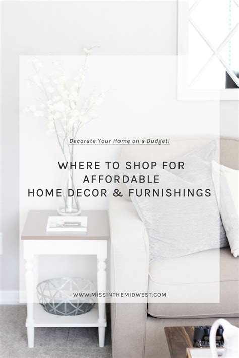 affordable home decor where i shop for affordable home decor miss in the midwest
