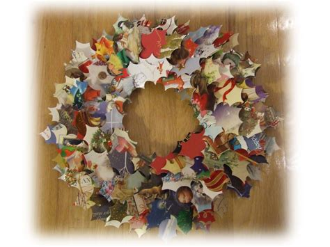 how to make a card wreath december 2008 celebrate the journey