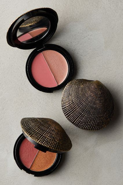 diy makeup compact diy inspiration shell makeup compact anthropoligie if you can find a shell large enough to