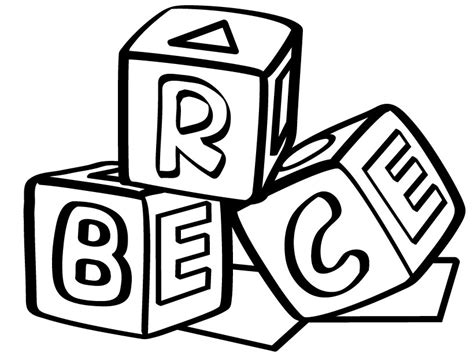 coloring pages abc blocks 8 best images of printable alphabet blocks printable