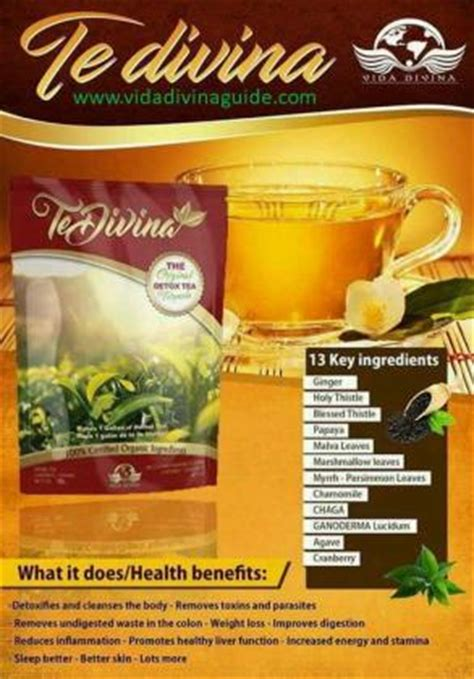 Rapid City Detox by Te Divina Detox Tea For Rapid Weight Loss Now Available In