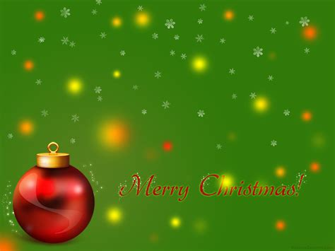 green xmas wallpaper free christmas wallpapers and powerpoint backgrounds