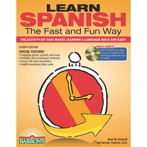 learn spanish iii with learn spanish the fast and fun way with mp3 cd non fiction more shop the exchange