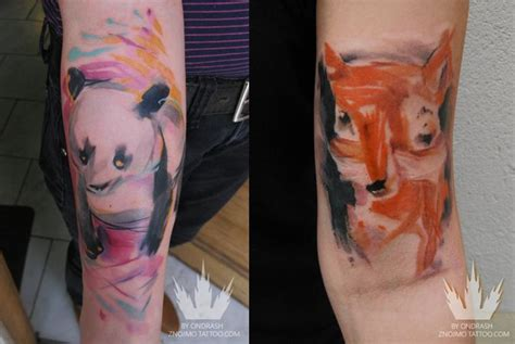 panda effect tattoo 109 best images about gonna get a watercolor tattoo on