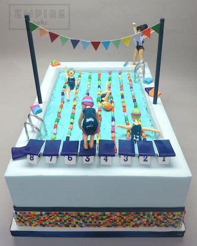 swimming pool cakes ideas  pinterest swimming cake pool cake  swim cake