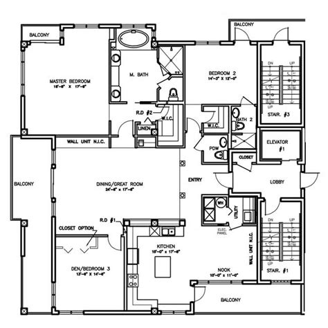 a floor plan floorplans