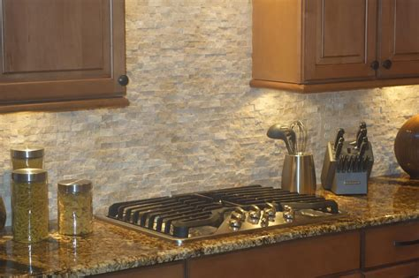 Kitchen With Mosaic Backsplash Tumbled Marble Tile Backsplash Kitchen Largesize Kitchen