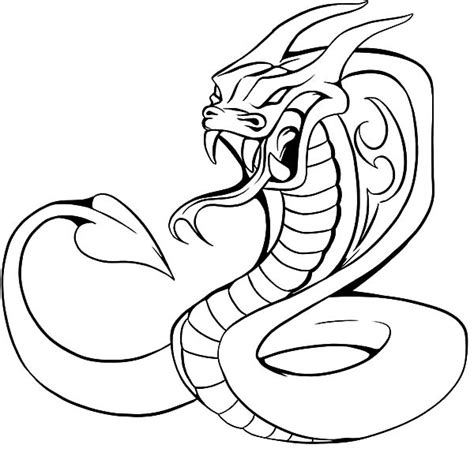 printable coloring page king cobra king cobra coloring pages cobra pinterest king cobra