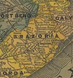 map of brazoria county brazoria county