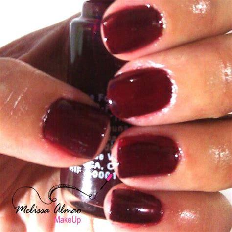imagenes de uñas pintadas de vinotinto tendencia de oto 241 o u 241 as vinotinto i love nail polish