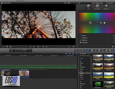 final cut pro x review final cut pro x hands on review part 1 eoshd