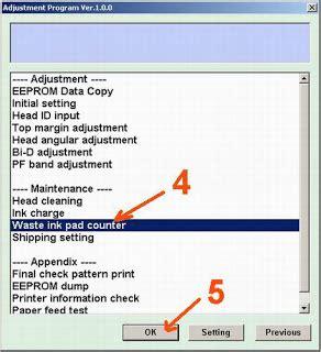 tombol reset printer epson t13 cara reset printer epson t13 disebabkan lu merah hijau