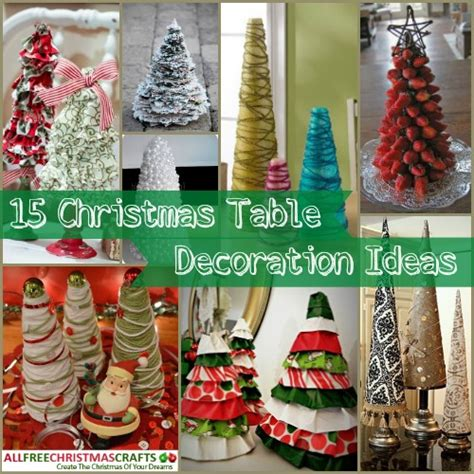 15 christmas table decoration ideas