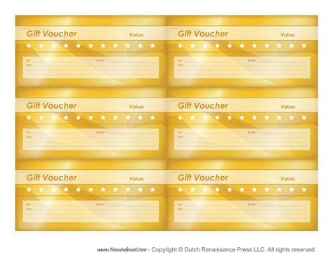 coupon templates free free printable gift voucher templates blank gift vouchers