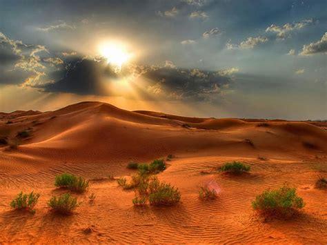 desert landscape summer sunset   desert red sand